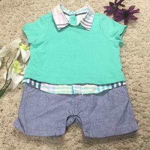 Cat & Jack Baby Size 3-6 Months One Piece Outfit